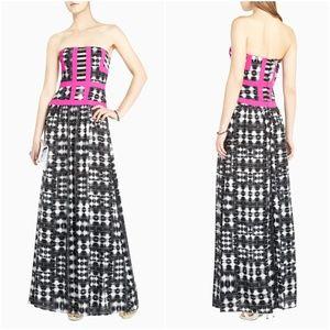 NWOT BCBGMaxAzria Gracelyn Strapless Maxi Dress
